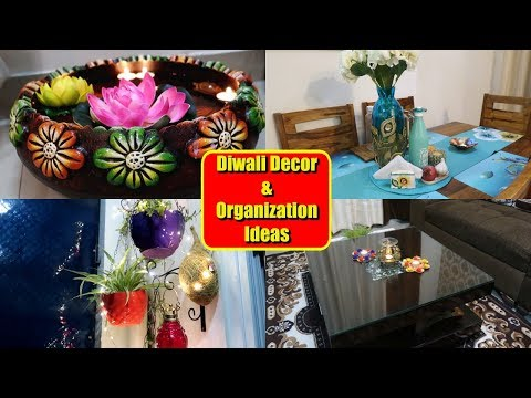 Diwali Home Makeover Tour 🏡| Home Decor and Organization Ideas in Hindi - 2019 | Indian Mom Studio