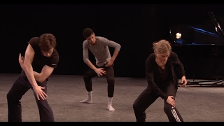 Crystal Pite rehearses her new piece with The Royal Ballet