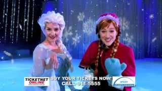 Get a chance to watch Disney on Ice with Sun!