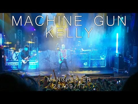 Machine Gun Kelly - Live In Manchester (28/09/2017)