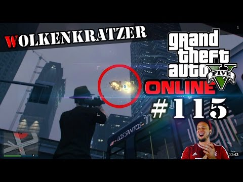 GTA ONLINE - Er springt einfach so in den Tod (GTA 5 Lets Play #115)