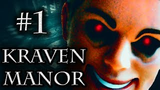 HOW TO SCARY - Kraven Manor Free Horror Game ~ Part 1
