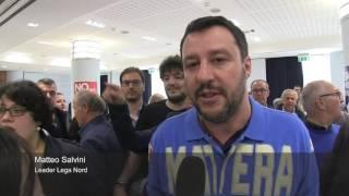 Lega Nord, Salvini a Bari e Matera