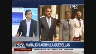 Diputado Marco Antonio Núñez se refiere a querellas contra ministro Mañalich