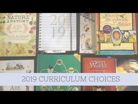 2019 Curriculum Choices | Australian Homeschool