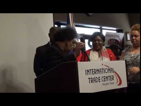 Caribbean Chamber of Commerce 1-15-2018 Press Conference. Houston, Tx. Part 9