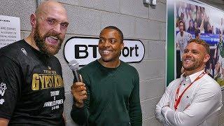 Tyson Fury & Billy Joe Saunders CLOWN Deontay Wilder over CHICKEN SLAP!