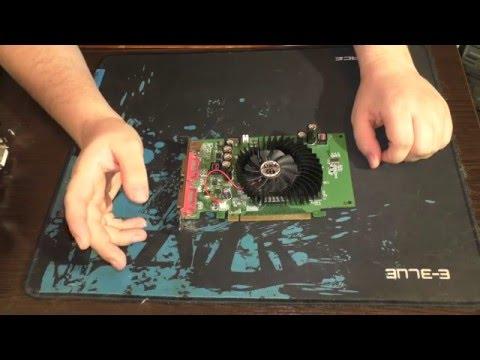 История видеокарты Geforce 8600