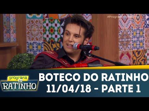 Boteco Do Ratinho - Parte 1 | Programa Do Ratinho (11/04/18)