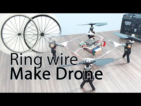 How To Make A DRONE At Home Very Easy By RK