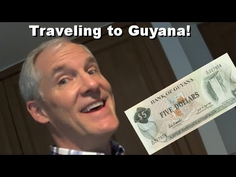 Traveling to Guayana, Suriname, French Guiana!