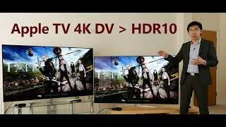 Apple TV 4K Dolby Vision vs HDR10 Picture Quality Comparison