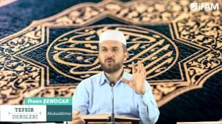 Tefsir - 115 - Vâkıa Sûresi (1-34) - İhsan Şenocak Hoca
