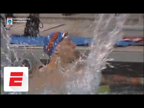Caeleb Dressel sets an another American record with a 39.9 in the 100 freestyle | ESPN