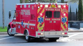 Rescue 61 - Winter Park Fire Rescue Department