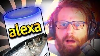ALEXA? WIE MACHT DER FISCH?! 😂😳 Gronkh und Alexa 🔥  - GronkhTV - (Livestream 19.10.18)