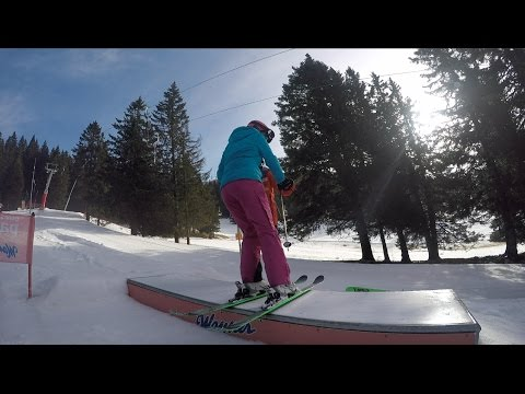 Slovenia - Ljubljana - Krvavec, Skiing and Snowboarding 2016