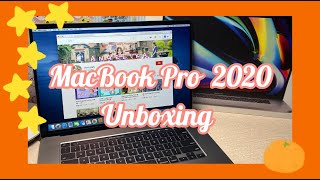 VLOG 3  |  Unboxing MacBook Pro 2020  16-inch & Magic Mouse 2 🪐