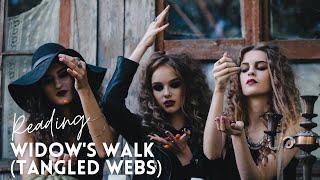 TANGLED WEBS, AUTHOR READING (WIDOW'S WALK) #Halloween #SpookyStories