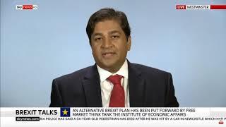 Shanker Singham discusses Brexit on Sky News