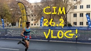 Sage Canaday: California International Marathon Race  2015 VLOG | OTQ attempt #3