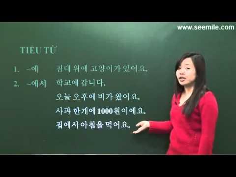 Ôn tập tổng hợp tiếng hàn (bài 15)