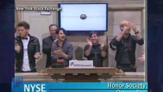 Honor Society Rings NYSE Opening Bell 12-14-09 Mp3