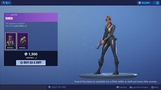 64,000 V-Bucks Spending Spree!! NEW Epic 'SOFIA' Fortnite Skin (Part Of John Wick Set)