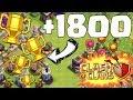 1800 POKALE GEWONNEN! ☆ Clash of Clans ☆ CoC