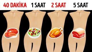 Favori Yiyecekleriniz Midenizde Ne Kadar Süre Kalır?