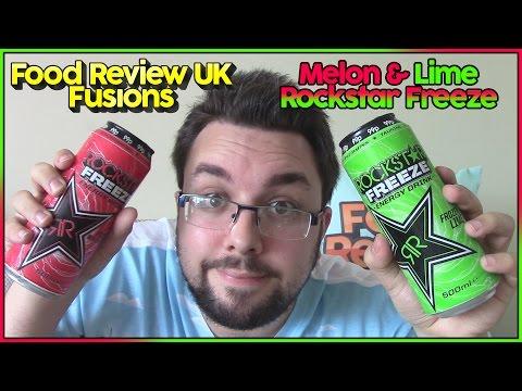 Rockstar Freeze Melon & Lime Review | FRUK Fusions