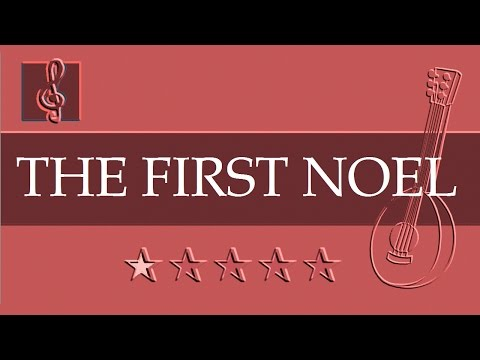 Mandolin & Guitar Duet - Christmas song - The First Noel 1.0 (Sheet music - Guitar chords)