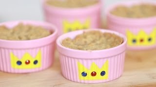 Princess Peach Cobbler - Nerdy Nummies