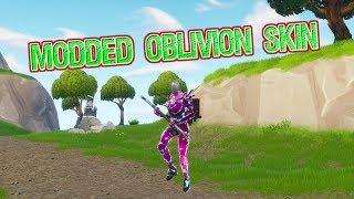 Oblivion/Galaxy/ChromeHead Modded Skin (Fortnite Battle Royale)