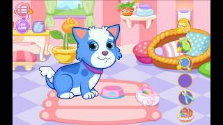 MY NEWBORN BABY PET  CARE GAME  PUPPEs CARE