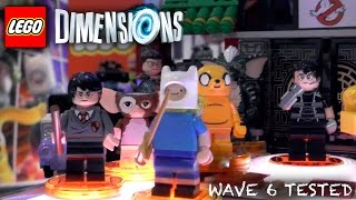 Lego Dimensions Wave 6 - Unboxed, Packaging, Gameplay
