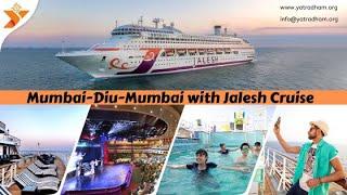 JALESH CRUISE, passenger  ship Mumbai to Diu to Mumbai
