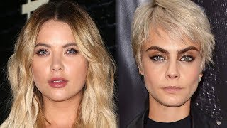 Ashley Benson REFUSES To Confirm Cara Delevingne Relationship
