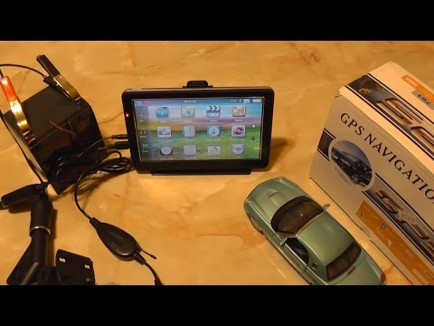"7"" Car GPS with Wireless Reversing Camera"