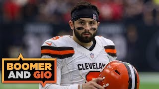 """""""Baker Mayfield has to coddle his BABY Odell"""" 