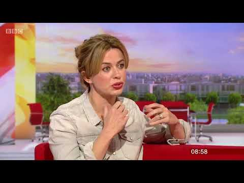 Eve Myles  BBC Breakfast   Talking Keeping Faith 2nd May 2018