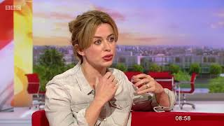 Eve Myles - BBC Breakfast  - Talking Keeping Faith 2nd May 2018