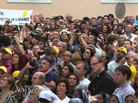 Vaticano - 2012-09-09 - Lebanese Catholics look forward to Papal visit