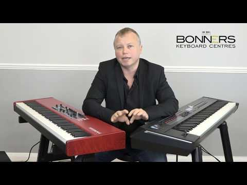 Famous Piano Intros Nord Piano 4 vs Roland RD2000