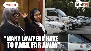 Siti Kasim slams Umno supporters for parking at lawyer's parking area at KL court