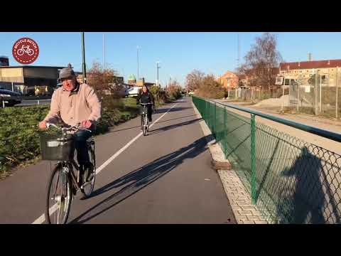 A cycle ride in Malmö (Sweden)