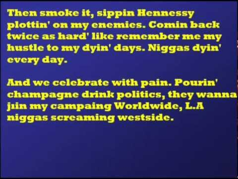 Tyga - Hit Em Up (ft. 2Pac & Jadakiss) Lyrics