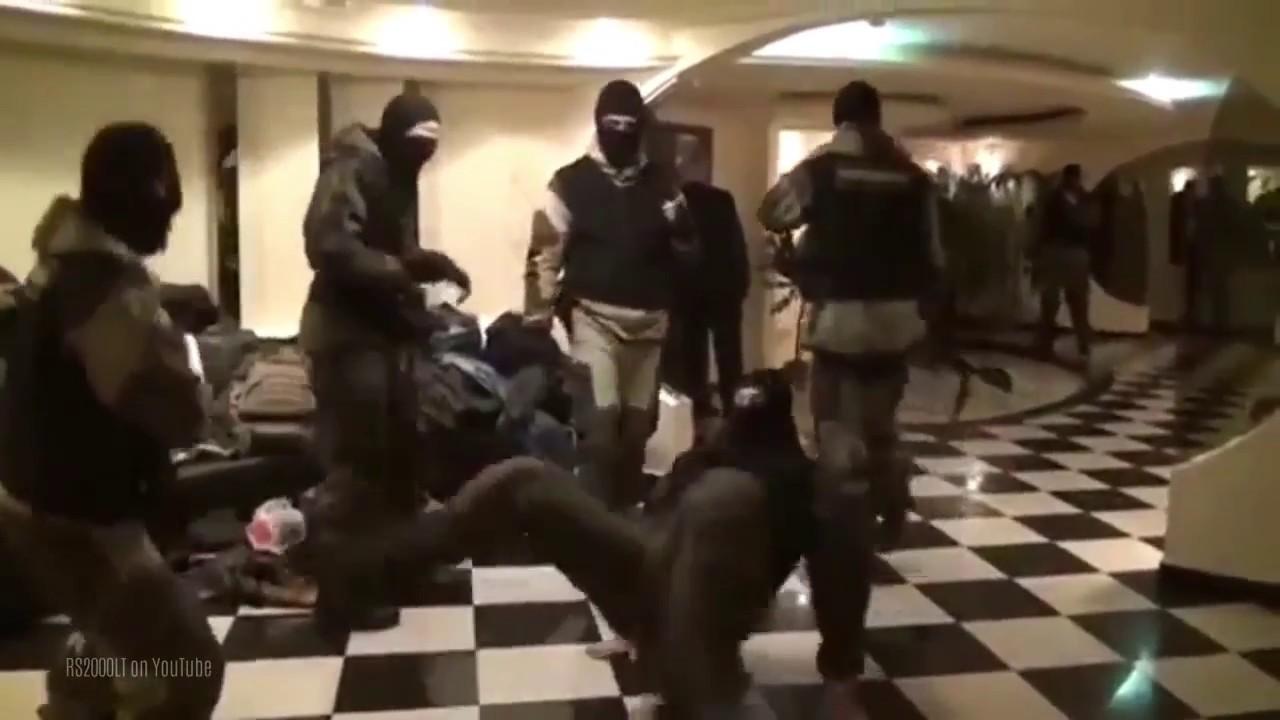 Russian spetsnaz dance