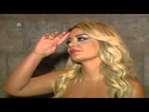 Madeleine Matar - arabica news 9-7-2012 كواليس حفل مادلين مطر في خنشارة