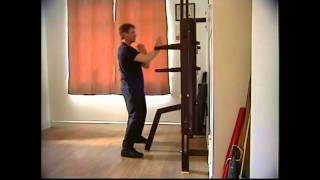 Wing Chun Wooden Dummy Form - Real Speed + Blindfolded - Martial Arts Congleton